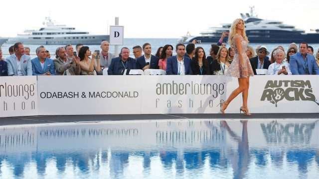 Victoria Silvstedt at Amber Lounge Fashion Show, Le Meridien Beach Plaza, Monte Carlo, Monaco, 22 May 2015. &copy&#x3b; Sutton Motorsport Images