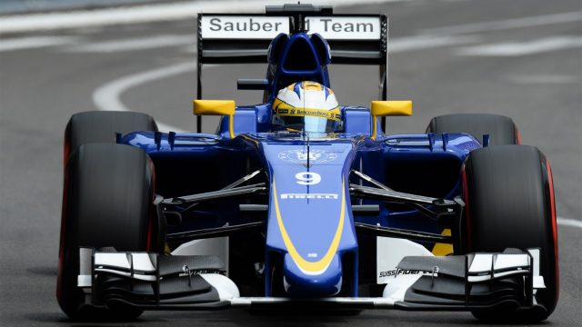 Marcus Ericsson (SWE) Sauber C34 at Formula One World Championship, Rd6, Monaco Grand Prix Qualifying, Monte-Carlo, Monaco, Saturday 23 May 2015. &copy&#x3b; Sutton Motorsport Images