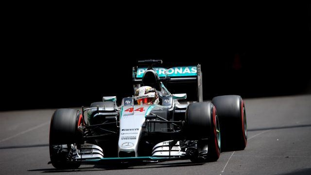 Lewis Hamilton (GBR) Mercedes AMG F1 W06 at Formula One World Championship, Rd6, Monaco Grand Prix Qualifying, Monte-Carlo, Monaco, Saturday 23 May 2015. &copy&#x3b; Sutton Motorsport Images