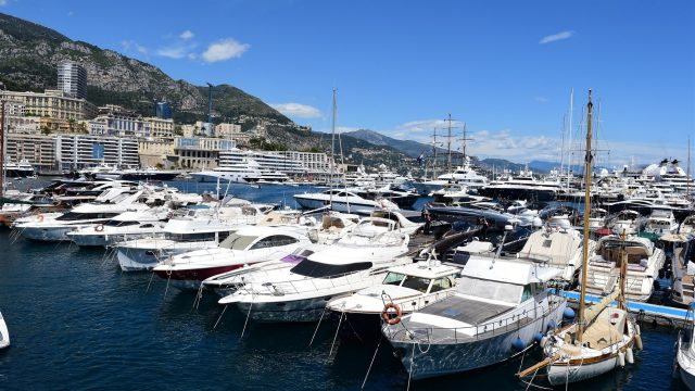 Boats at Formula One World Championship, Rd6, Monaco Grand Prix Qualifying, Monte-Carlo, Monaco, Saturday 23 May 2015. &copy&#x3b; Sutton Motorsport Images