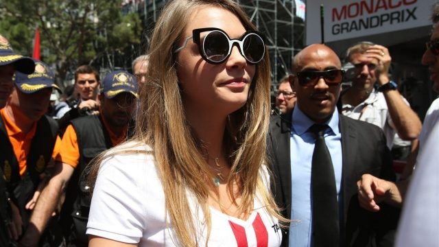 Cara Delevingne (GBR) Model on the grid at Formula One World Championship, Rd6, Monaco Grand Prix Race, Monte-Carlo, Monaco, Sunday 24 May 2015. &copy&#x3b; Sutton Motorsport Images