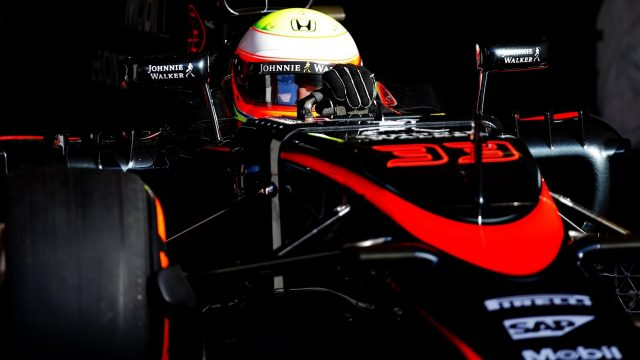 Oliver Turvey (GBR) McLaren MP4-30 at Formula One Testing, Day One, Barcelona, Spain, 12 May 2015. &copy&#x3b; Sutton Motorsport Images