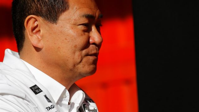 Yasuhisa Arai (JPN) Head of Honda Motorsport at Formula One Testing, Day One, Barcelona, Spain, 12 May 2015. &copy&#x3b; Sutton Motorsport Images