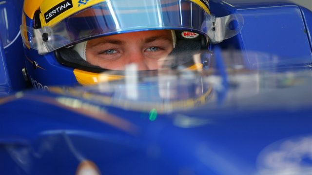 Marcus Ericsson (SWE) Sauber C34 at Formula One Testing, Day One, Barcelona, Spain, 12 May 2015. &copy&#x3b; Sutton Motorsport Images