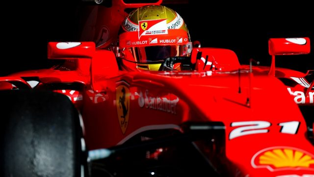Esteban Gutierrez (MEX) Ferrari S15-T at Formula One Testing, Day Two, Barcelona, Spain, 13 May 2015. &copy&#x3b; Sutton Motorsport Images