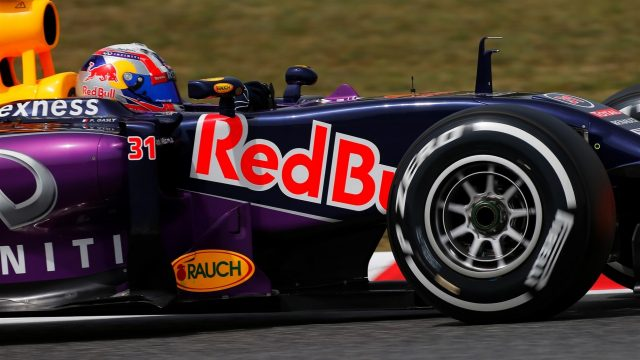 Pierre Gasly (FRA) Red Bull Racing RB11 at Formula One Testing, Day Two, Barcelona, Spain, 13 May 2015. &copy&#x3b; Sutton Motorsport Images