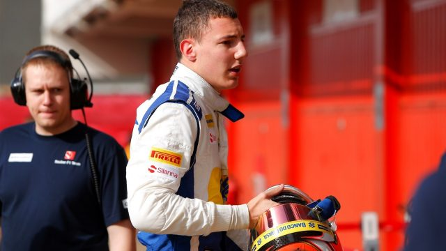 Raffaele Marciello (ITA) Sauber C34 at Formula One Testing, Day Two, Barcelona, Spain, 13 May 2015. &copy&#x3b; Sutton Motorsport Images