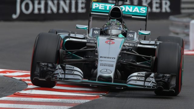 Nico Rosberg (GER) Mercedes AMG F1 W06 at Formula One World Championship, Rd6, Monaco Grand Prix Qualifying, Monte-Carlo, Monaco, Saturday 23 May 2015. &copy&#x3b; Sutton Motorsport Images