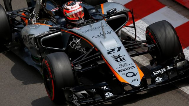 Nico Hulkenberg (GER) Force India at Formula One World Championship, Rd6, Monaco Grand Prix Qualifying, Monte-Carlo, Monaco, Saturday 23 May 2015. &copy&#x3b; Sutton Motorsport Images