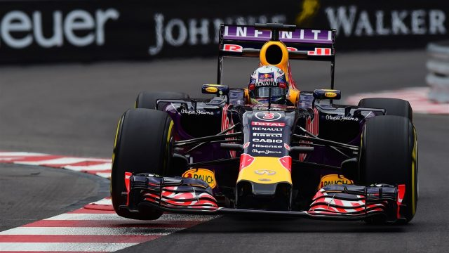 Daniel Ricciardo (AUS) Red Bull Racing RB11 at Formula One World Championship, Rd6, Monaco Grand Prix Practice, Monte-Carlo, Monaco, Thursday 21  May 2015. &copy&#x3b; Sutton Motorsport Images