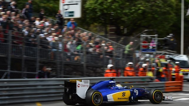 Marcus Ericsson (SWE) Sauber C34 at Formula One World Championship, Rd6, Monaco Grand Prix Practice, Monte-Carlo, Monaco, Thursday 21  May 2015. &copy&#x3b; Sutton Motorsport Images