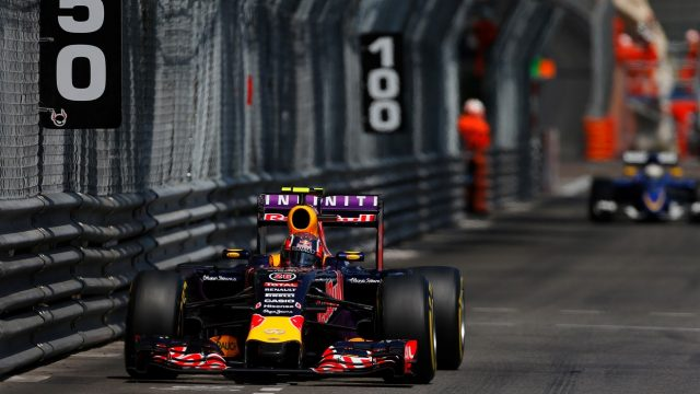 Daniil Kvyat (RUS) Red Bull Racing RB11 at Formula One World Championship, Rd6, Monaco Grand Prix Race, Monte-Carlo, Monaco, Sunday 24 May 2015. &copy&#x3b; Sutton Motorsport Images