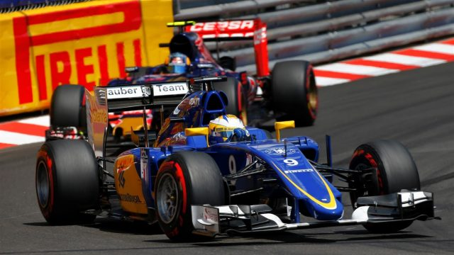 Marcus Ericsson (SWE) Sauber C34 at Formula One World Championship, Rd6, Monaco Grand Prix Race, Monte-Carlo, Monaco, Sunday 24 May 2015. &copy&#x3b; Sutton Motorsport Images