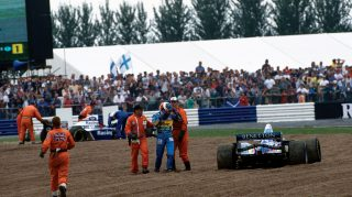 Do you remember… when Schumacher and Hill collided at Silverstone