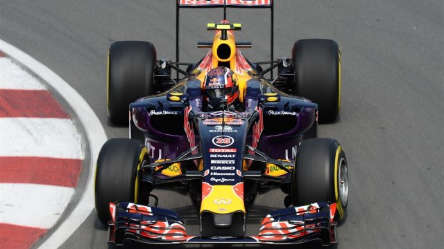 Daniil Kvyat (RUS) Red Bull Racing RB11 at Formula One World Championship, Rd7, Canadian Grand Prix, Practice, Montreal, Canada, Friday 5 June 2015. &copy&#x3b; Sutton Motorsport Images