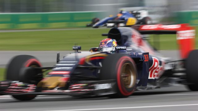 Max Verstappen (NDL) Scuderia Toro Rosso STR10 at Formula One World Championship, Rd7, Canadian Grand Prix, Practice, Montreal, Canada, Friday 5 June 2015. &copy&#x3b; Sutton Motorsport Images