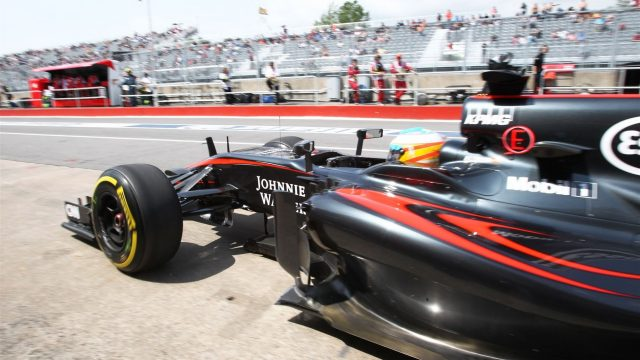 Fernando Alonso (ESP) McLaren MP4-30 at Formula One World Championship, Rd7, Canadian Grand Prix, Practice, Montreal, Canada, Friday 5 June 2015. &copy&#x3b; Sutton Motorsport Images