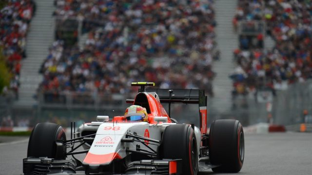Roberto Merhi (ESP) Manor GP at Formula One World Championship, Rd7, Canadian Grand Prix, Practice, Montreal, Canada, Friday 5 June 2015. &copy&#x3b; Sutton Motorsport Images