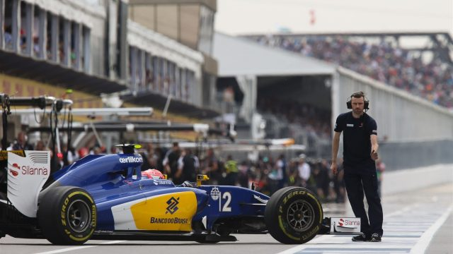 Felipe Nasr (BRA) Sauber C34 at Formula One World Championship, Rd7, Canadian Grand Prix, Practice, Montreal, Canada, Friday 5 June 2015. &copy&#x3b; Sutton Motorsport Images