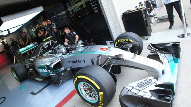 Nico Rosberg (GER) Mercedes AMG F1 W06 at Formula One World Championship, Rd7, Canadian Grand Prix, Practice, Montreal, Canada, Friday 5 June 2015. &copy&#x3b; Sutton Motorsport Images