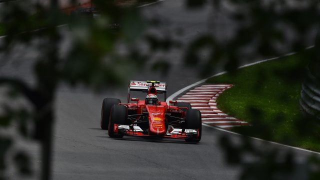 Kimi Raikkonen (FIN) Ferrari SF15-T at Formula One World Championship, Rd7, Canadian Grand Prix, Practice, Montreal, Canada, Friday 5 June 2015. &copy&#x3b; Sutton Motorsport Images