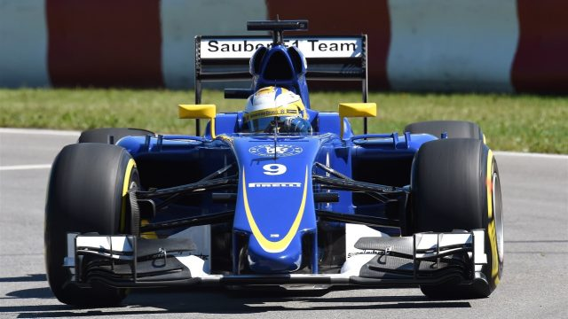 Marcus Ericsson (SWE) Sauber C34 at Formula One World Championship, Rd7, Canadian Grand Prix, Qualifying, Montreal, Canada, Saturday 6 June 2015. &copy&#x3b; Sutton Motorsport Images