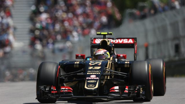 Pastor Maldonado (VEN) Lotus E23 Hybrid at Formula One World Championship, Rd7, Canadian Grand Prix, Qualifying, Montreal, Canada, Saturday 6 June 2015. &copy&#x3b; Sutton Motorsport Images