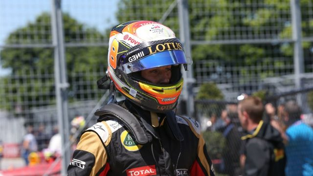 Romain Grosjean (FRA) Lotus F1 at Formula One World Championship, Rd7, Canadian Grand Prix, Qualifying, Montreal, Canada, Saturday 6 June 2015. &copy&#x3b; Sutton Motorsport Images