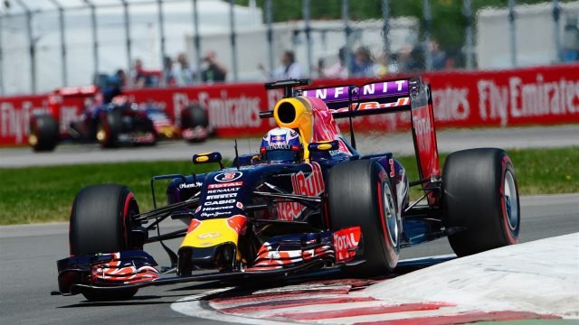 Daniel Ricciardo (AUS) Red Bull Racing RB11 at Formula One World Championship, Rd7, Canadian Grand Prix, Qualifying, Montreal, Canada, Saturday 6 June 2015. &copy&#x3b; Sutton Motorsport Images