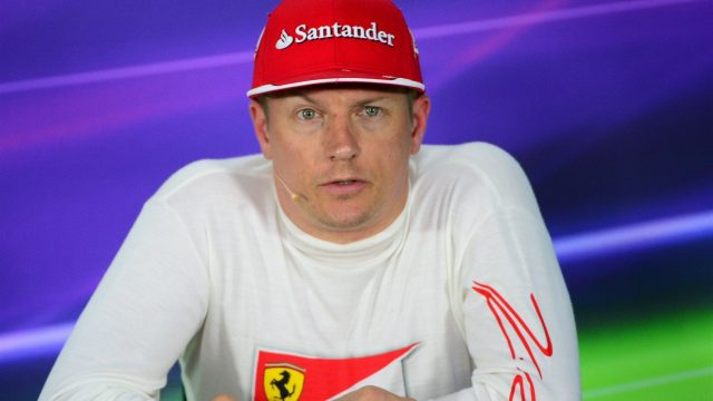 Kimi Raikkonen (FIN) Ferrari in the press conference at Formula One World Championship, Rd7, Canadian Grand Prix, Qualifying, Montreal, Canada, Saturday 6 June 2015. &copy&#x3b; Sutton Motorsport Images