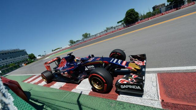Max Verstappen (NDL) Scuderia Toro Rosso STR10 at Formula One World Championship, Rd7, Canadian Grand Prix, Qualifying, Montreal, Canada, Saturday 6 June 2015. &copy&#x3b; Sutton Motorsport Images