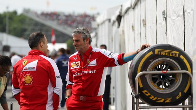 Maurizio Arrivabene (ITA) Ferrari Team Principal at Formula One World Championship, Rd7, Canadian Grand Prix, Race, Montreal, Canada, Sunday 7 June 2015. &copy&#x3b; Sutton Motorsport Images
