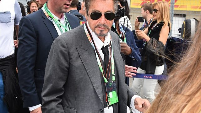 Al Pacino (USA) Actor on the grid at Formula One World Championship, Rd7, Canadian Grand Prix, Race, Montreal, Canada, Sunday 7 June 2015. &copy&#x3b; Sutton Motorsport Images