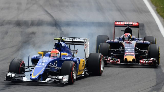 Felipe Nasr (BRA) Sauber C34 at Formula One World Championship, Rd7, Canadian Grand Prix, Race, Montreal, Canada, Sunday 7 June 2015. &copy&#x3b; Sutton Motorsport Images