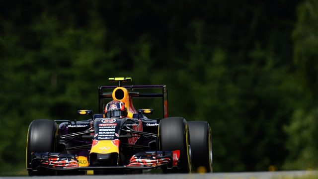 Daniil Kvyat (RUS) Red Bull Racing RB11 at Formula One World Championship, Rd8, Austrian Grand Prix, Practice, Spielberg, Austria, Friday 19 June 2015. &copy&#x3b; Sutton Motorsport Images