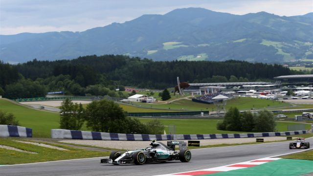 Nico Rosberg (GER) Mercedes AMG F1 W06 at Formula One World Championship, Rd8, Austrian Grand Prix, Practice, Spielberg, Austria, Friday 19 June 2015. &copy&#x3b; Sutton Motorsport Images