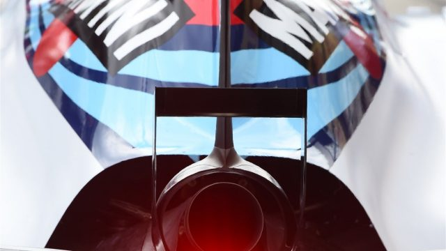 Williams FW37 rear light and exhaust at Formula One World Championship, Rd8, Austrian Grand Prix, Practice, Spielberg, Austria, Friday 19 June 2015. &copy&#x3b; Sutton Motorsport Images