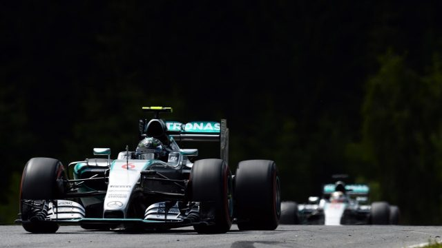 Nico Rosberg (GER) Mercedes AMG F1 W06 at Formula One World Championship, Rd8, Austrian Grand Prix, Race, Spielberg, Austria, Sunday 21 June 2015. &copy&#x3b; Sutton Motorsport Images