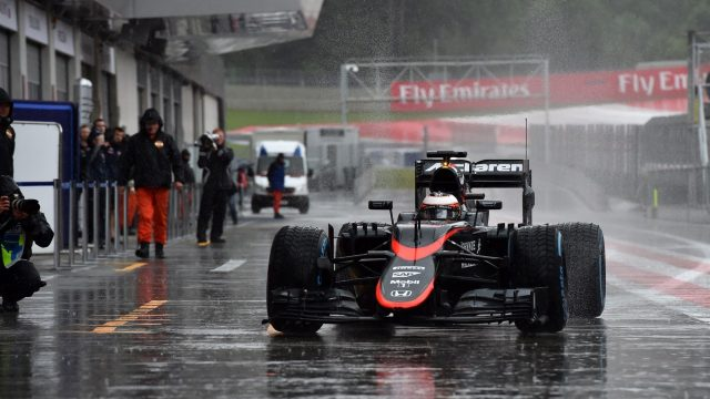 Stoffel Vandoorne (BEL) McLaren MP4-30 at Formula One Testing, Day One, Spielberg, Austria, Tuesday 23 June 2015. &copy&#x3b; Sutton Motorsport Images