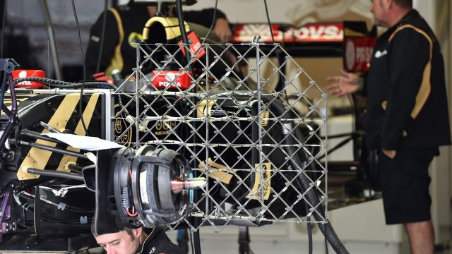 Lotus E23 Hybrid with aero sensors at Formula One Testing, Day One, Spielberg, Austria, Tuesday 23 June 2015. &copy&#x3b; Sutton Motorsport Images