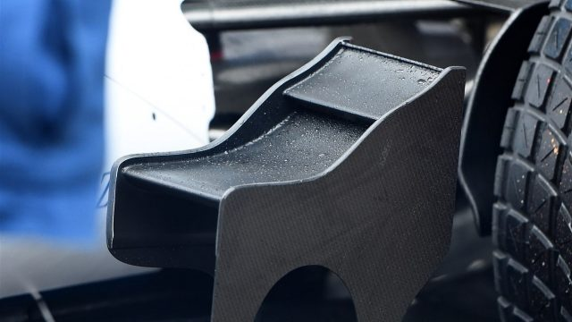 Williams FW37 winglet detail at Formula One Testing, Day One, Spielberg, Austria, Tuesday 23 June 2015. &copy&#x3b; Sutton Motorsport Images