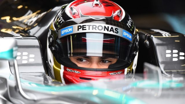 Pascal Wehrlein (GER) Mercedes Test and Reserve Driver at Formula One Testing, Day One, Spielberg, Austria, Tuesday 23 June 2015. &copy&#x3b; Sutton Motorsport Images