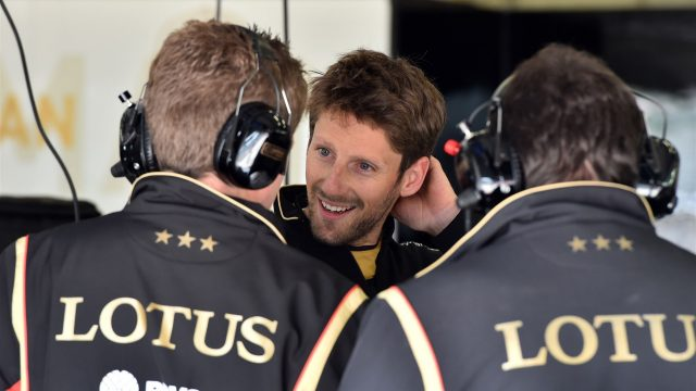 Romain Grosjean (FRA) Lotus F1 at Formula One Testing, Day One, Spielberg, Austria, Tuesday 23 June 2015. &copy&#x3b; Sutton Motorsport Images