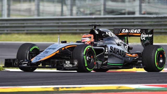 Esteban Ocon (FRA) Force India VJM08 at Formula One Testing, Day One, Spielberg, Austria, Tuesday 23 June 2015. &copy&#x3b; Sutton Motorsport Images