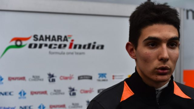 Esteban Ocon (FRA) Force India Test and Development Driver at Formula One Testing, Day One, Spielberg, Austria, Tuesday 23 June 2015. &copy&#x3b; Sutton Motorsport Images