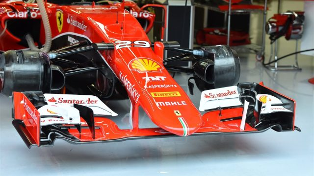 Ferrari SF15-T in the garage at Formula One Testing, Day One, Spielberg, Austria, Tuesday 23 June 2015. &copy&#x3b; Sutton Motorsport Images