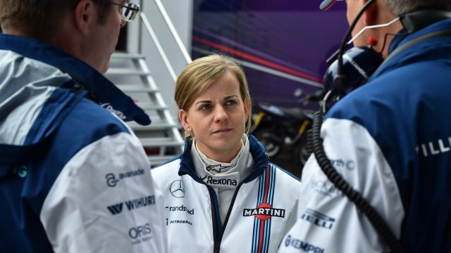 Susie Wolff (GBR) Williams Test and Development Driver at Formula One Testing, Day One, Spielberg, Austria, Tuesday 23 June 2015. &copy&#x3b; Sutton Motorsport Images