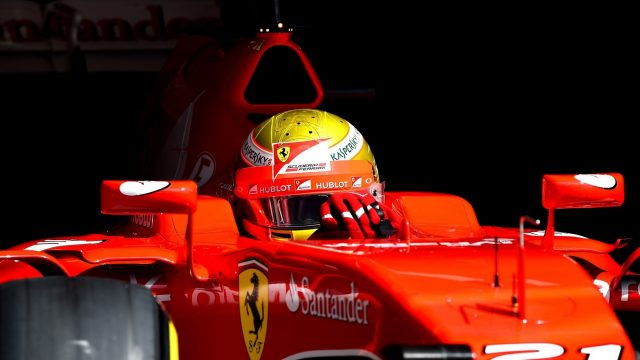 Esteban Gutierrez (MEX) Ferrari Test and Reserve Driver at Formula One Testing, Day Two, Spielberg, Austria, Wednesday 24 June 2015. &copy&#x3b; Sutton Motorsport Images
