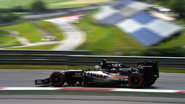 Pascal Wehrlein (GER) Force India VJM08 at Formula One Testing, Day Two, Spielberg, Austria, Wednesday 24 June 2015. &copy&#x3b; Sutton Motorsport Images