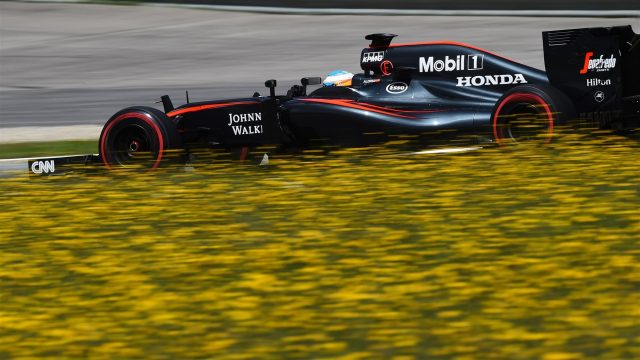 Fernando Alonso (ESP) McLaren MP4-30 at Formula One Testing, Day Two, Spielberg, Austria, Wednesday 24 June 2015. &copy&#x3b; Sutton Motorsport Images